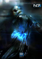 Mass Effect 3 Thane Krios by patryk-garrett