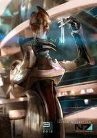 Mass Effect 3 - Mordin Solus by patryk-garrett
