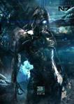 Mass Effect 3 - Legion by patryk-garrett