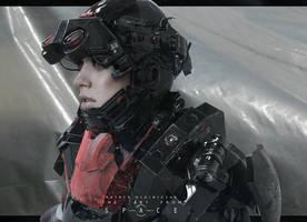 Combat Suit by patryk-garrett