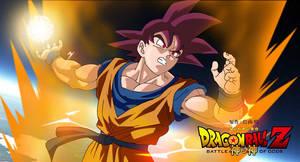 Goku_super_saiyan_god. by aliensurxx