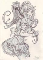 Anime Maid by MaraLeigh