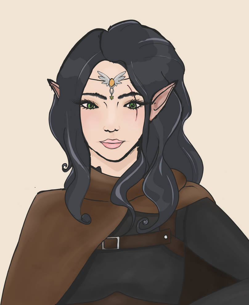 Felwyn, my full-elf assassin! by Nefershep