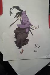 Jin from Samurai Champloo by TotallyOrdinary