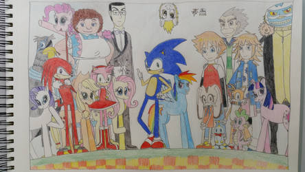 Sonic X: Friendship is Universal - Cast by JPtherobothedgehog