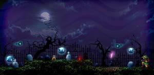 Graveyard - ZELDA 2 - HD by Hyrule452