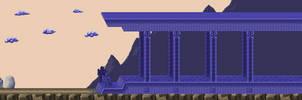 Maze Palace Entrance - Zelda 2 by Hyrule452