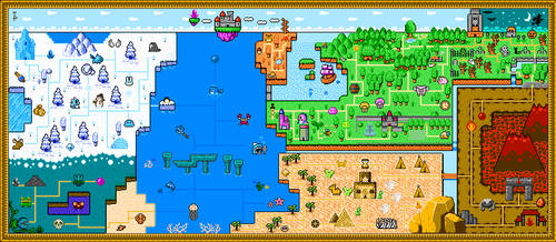 Don Doko Don 2 - Extended Map by Hyrule452