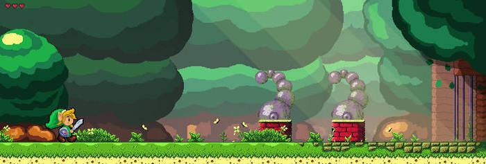 ZELDA - Link's Awakening - Tail Cave by Hyrule452