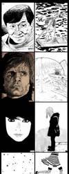 Sketches 61-70 by Kazumaki