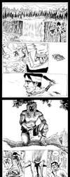 Doodle comic 1of2 by Kazumaki
