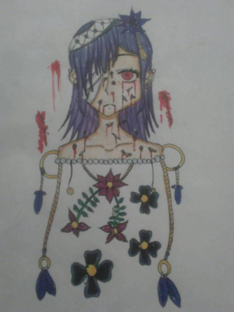 Pain(with color) by Makia42