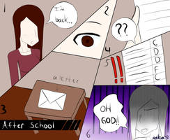 How School?(comic pratice) by Makia42