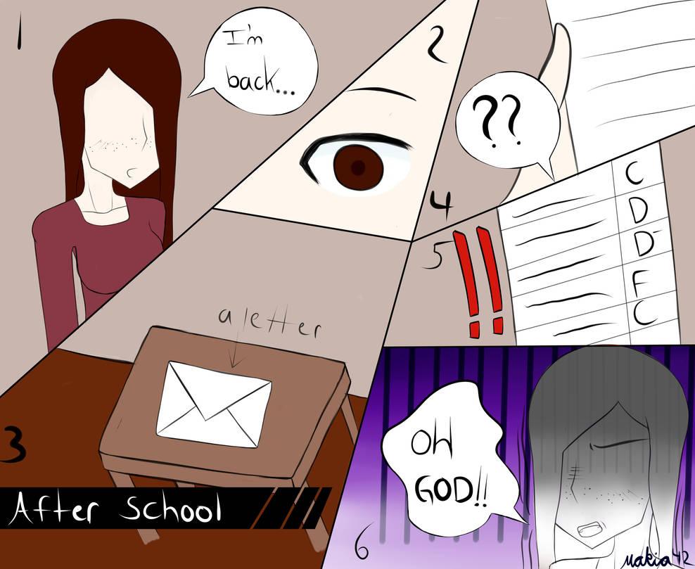 How School?(comic pratice) by Makia42