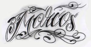 Lettering sketch by jerrrroen