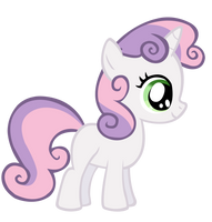 Sweetie Belle Vector by Durpy