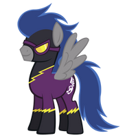 Male Shadowbolt Descent bright vector by Durpy