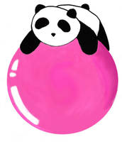 Panda by brickbat