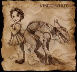 Kinderwulfe by Candy-Janney