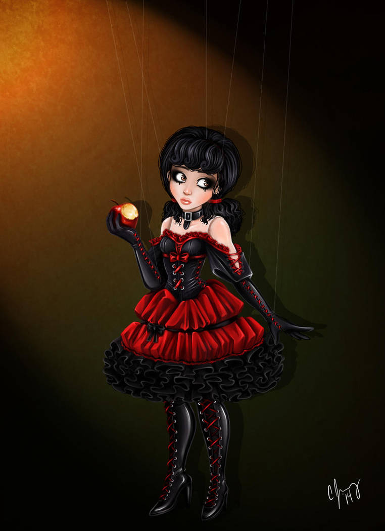 Still Doll: Snow White... AGAIN by Candy-Janney