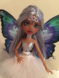 OOAK Monster High Repaint Faceup Odette Clawdeen by Candy-Janney