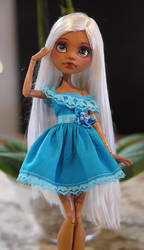 Monster High Clawdeen Repaint by Candy-Janney