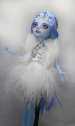 Monster High Faceup Snow Queen by Candy-Janney
