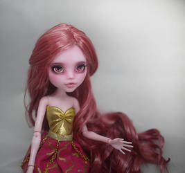Monster High Faceup Draculaura by Candy-Janney