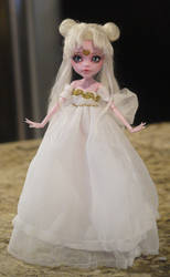 Neo Queen Serenity Monster High Faceup by Candy-Janney