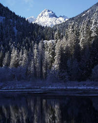 Elk Lake Reflection 2 by emo-druid