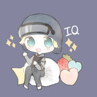 rainbow six siege IQ by CottontailTOKKi
