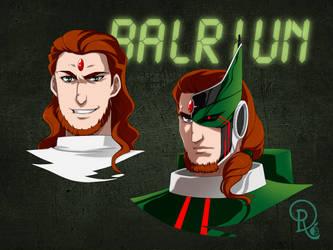 Faces of Balriun - DR Commission by LordNagashFear