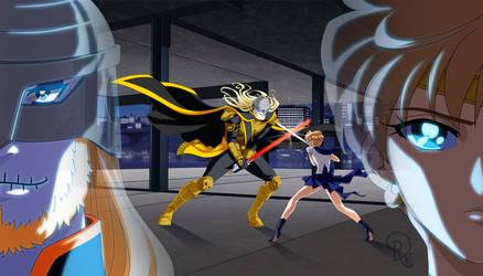 Praetor Nagash vs Sailor Uranus by LordNagashFear
