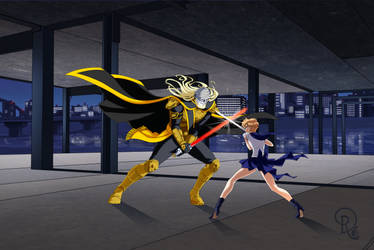 Praetor Nagash vs Sailor Uranus - No Faces by LordNagashFear
