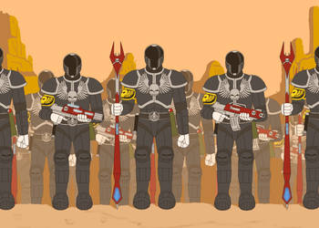 Skull Empire Soldiers by LordNagashFear