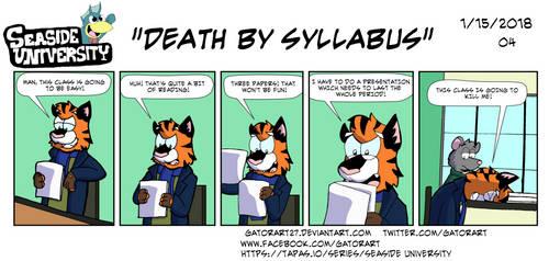 Death by Syllabus by GatorArt27