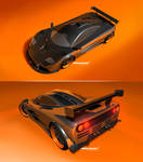 Mclaren F1 rendering by lockanload