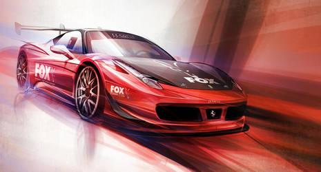 Ferrari 458 Italia by lockanload
