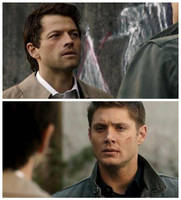 Dean and Cas by mrsVSnape