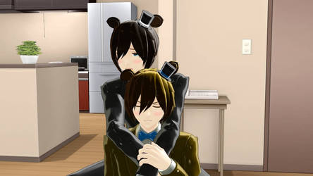 MMD FNAF You Want my Ears by Kania29