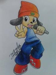 AT | PaRappa the Rapper by GilGummyBear