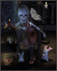 Creepy little friends by Arwenone