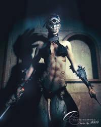 The dark warrior by Arwenone