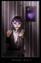 Purple Heart by Arwenone