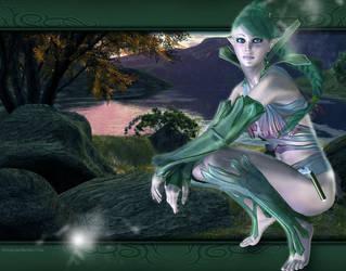 Elf by Arwenone