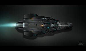 Spaceship Concept by max4ever
