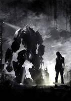 giant robot by ptitvinc