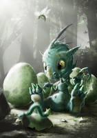 little dragon by ptitvinc