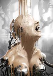 creating a nightmarish creature by ptitvinc