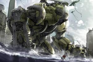 my jaeger V-00 by ptitvinc